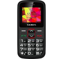 Телефон Texet TM-B217 Black Red
